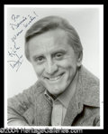 Autographs, Kirk Douglas Signed Photo