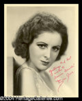 Autographs, Billie Dove Vintage Signed Photo