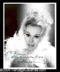 Autographs, Eva Gabor Stunning Signed Photo