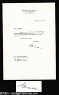 Autographs, Samuel Goldwyn Typed Letter Signed