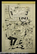 Autographs, Original Jughead Comic Cover Art