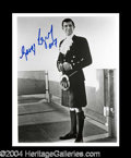 Autographs, George Lazenby Signed 007 Photo