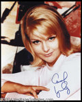 Autographs, Carol Lynley Signed 8 x 10 Photo