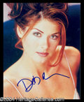 Autographs, Debra Messing Beautiful Signed Photo