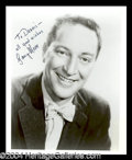Autographs, Garry Moore Signed Photo