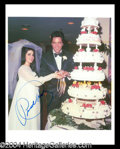 Autographs, Priscilla Presley Signed Photo w/ Elvis