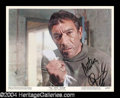 Autographs, Anthony Quinn Signed Lobby Card