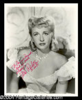Autographs, Vera Ralston Signed 8 x 10 Photo