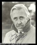 Autographs, Jason Robards Signed 8 x 10 Photo
