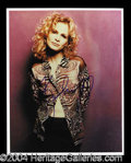Autographs, Kyra Sedgwick Signed 8 x 10 Photo