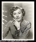 Autographs, Barbara Stanwyck Signed Photo