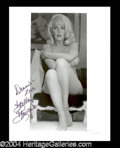 Autographs, Stella Stevens Sexy Signed Photo