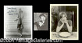 Autographs, Blanche Sweet Signed Photo Lot