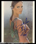 Autographs, Cheryl Tiegs Sexy Signed 8 x 10 Photo