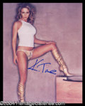 Autographs, Katharine Towne Sexy Signed Photo