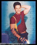 Autographs, Mark Wahlberg Signed 8 x 10 Photo