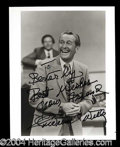 Autographs, Lawrence Welk Signed 8 x 10 Photo