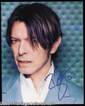 Autographs, David Bowie Signed 8 x 10 Photograph