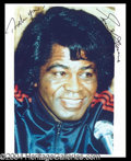 Autographs, James Brown Signed 8 x 10 Photo