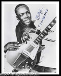 Autographs, John Lee Hooker Rare Signed Photo
