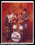 Autographs, The Monkees Signed 8 x 10 Photo
