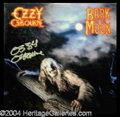 Autographs, Ozzy Osbourne Great Signed Album