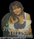 Autographs, Pam Tillis Signed Promotional Standee