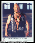 Autographs, Stone Cold Steve Austin Signed Photo
