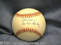 Autographs, Fred Bengis Yankees Signed Baseball
