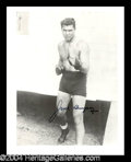 Autographs, Jack Dempsey Signed 8 x 10 Photo