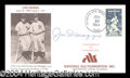 Autographs, Joe DiMaggio Rare Signed Cover PSA/DNA
