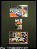 Autographs, Jeff Gordon Signed Matted Display