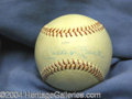 Autographs, Mickey Mantle Vintage 1960's Signed Baseball