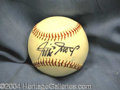 Autographs, Willie Mays Rare Vintage Signed Baseball