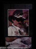 Autographs, Richard Petty Signed Framed Display