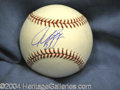 Autographs, Mike Piazza Signed Baseball