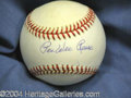 Autographs, Pee Wee Reese