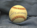 Autographs, Ted Williams Signed AL Baseball