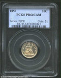 Proof Seated Dimes: , 1857 PR 64 Cameo PCGS. The current Coin Dealer ...
