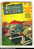 Golden Age (1938-1955):Superhero, Adventure Comics #131 (DC, 1948) Condition: GD/VG. Features Superboy, Shining Knight, Aquaman, Green Arrow, and Johnny Quick...