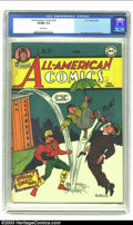 Golden Age (1938-1955):Superhero, All-American Comics #76 (DC, 1946) CGC VF/NM 9.0 White pages. Paul Reinman cover and art. Overstreet 2002 NM 9.4 value = $75...