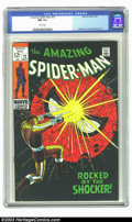 Silver Age (1956-1969):Superhero, Amazing Spider-Man #14 (Marvel, 1964) CGC VF 8.0 White pages. Probably the hottest Spidey book in recent years, this milesto...