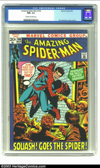 Amazing Spider-Man #106 (Marvel, 1972) CGC NM+ 9.6 Off-white to white pages. John Romita Sr. cover and art. Overstreet 2...