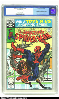Amazing Spider-Man #209 (Marvel, 1980) CGC NM/MT 9.8 Off-white to white pages. Origin and first appearance of Calypso. N...