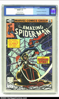 Amazing Spider-Man #210 (Marvel, 1980) CGC NM/MT 9.8 Off-white to white pages. First appearance of Madame Web. John Romi...