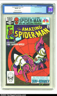 Amazing Spider-Man #223 (Marvel, 1981) CGC NM/MT 9.8 Off-white to white pages. John Romita Jr. art. Highest grade given...