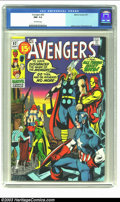 Bronze Age (1970-1979):Superhero, The Avengers #92 (Marvel, 1971) CGC NM- 9.2 Off-white pages. Last 15 cent issue; Adams cover, Sal Buscema art. Overstreet 20...