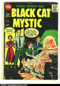 Golden Age (1938-1955):Horror, Black Cat Mystery #58 (Harvey, 1956) Condition: GD+. Overstreet2002 GD 2.0 value =$19....