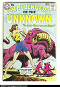 Silver Age (1956-1969):Adventure, Challengers of the Unknown Group (DC, 1958) . Issues #15, #18 (intro Cosmo, the Challengers' space pet), and #19, all in VG.... (Total: 3 Item)