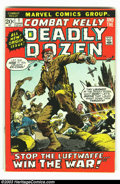 Bronze Age (1970-1979):War, Combat Kelly (and the Deadly Dozen) lot of #1-4 (Marvel, 1972) Condition: averages FN/VF. Overstreet 2002 value for group = ... (Total: 4 Comic Books Item)